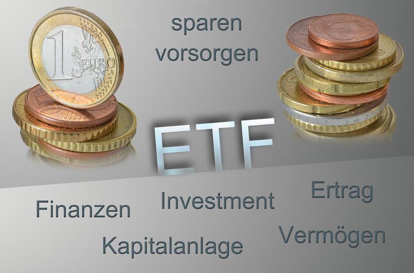 ETF-Geldanlage